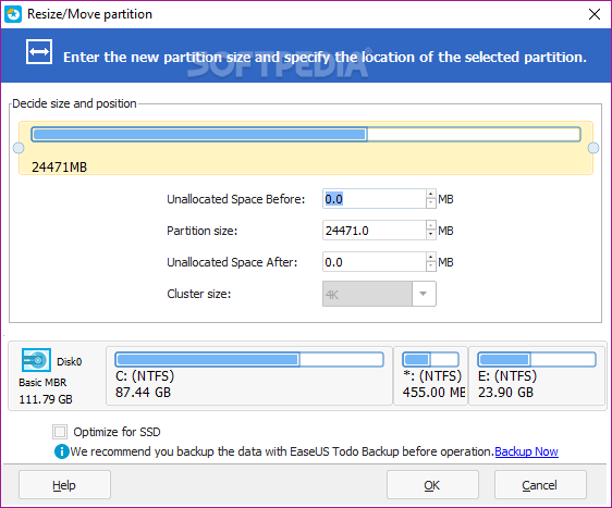 easeus free partition manager 64 bit