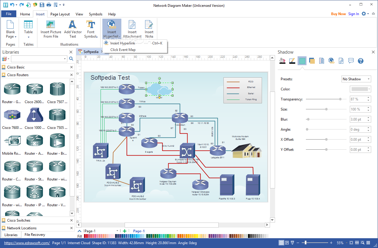 Download Network Diagram Maker 8 7 5