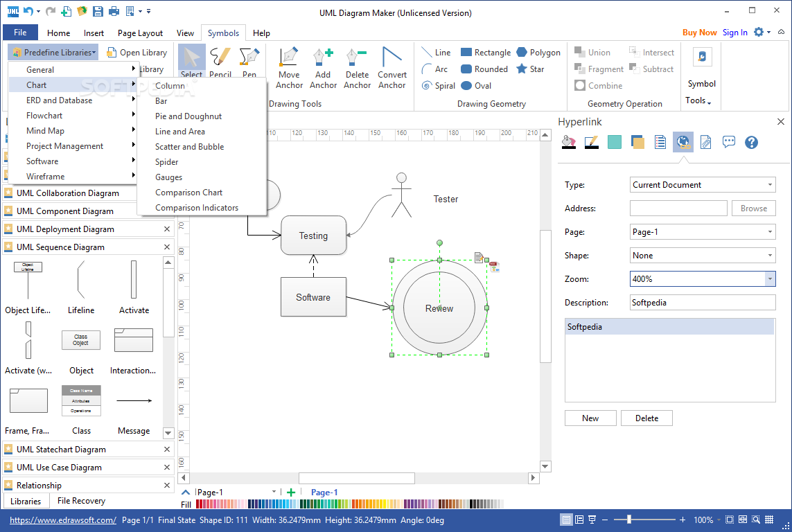 Create professional-looking UML diagrams with this reliable software