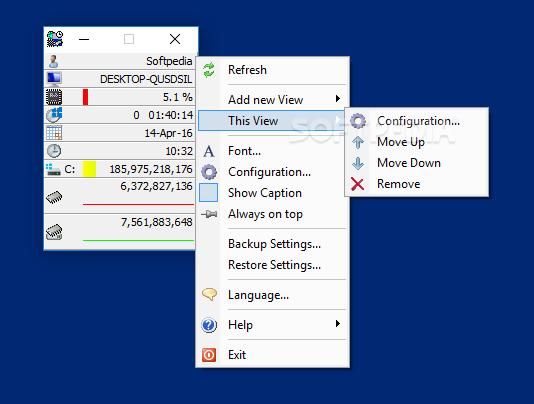 EF System Monitor screenshot #2