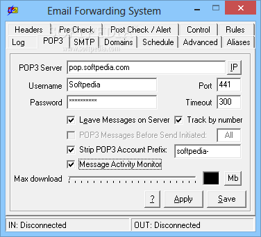 Download Email Forwarding System (formerly EFS Standard) 5 70 00