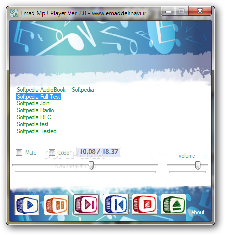 Download EMAD MP3 Player 2 1