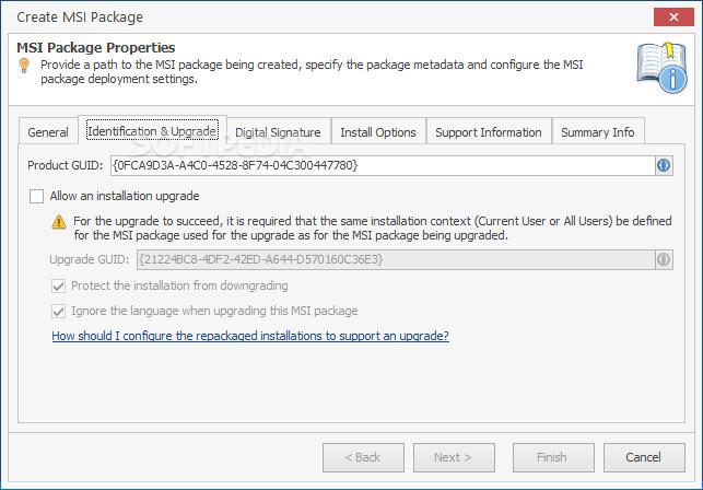 how to create msi package in visual studio 2012