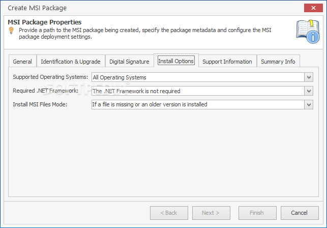 how to create msi package in visual studio 2012