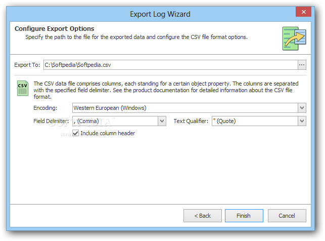 EMCO MoveOnBoot screenshot 3 - EMCO MoveOnBoot allows you to export the list of boot actions so you can analyze it at a later time