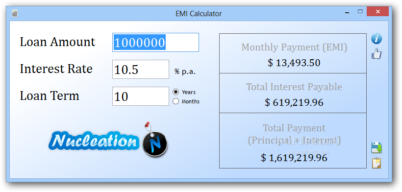 payment calculator download
