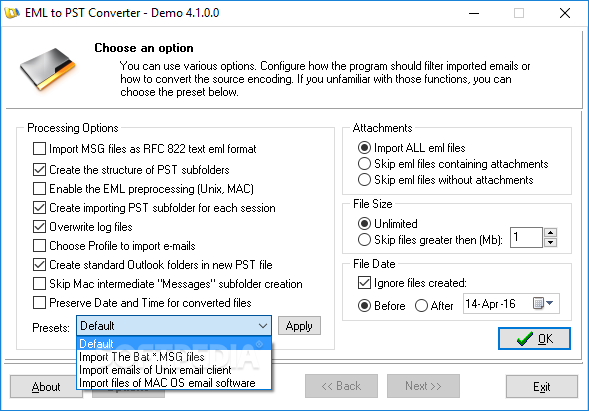 convert pst to pdf with attachments