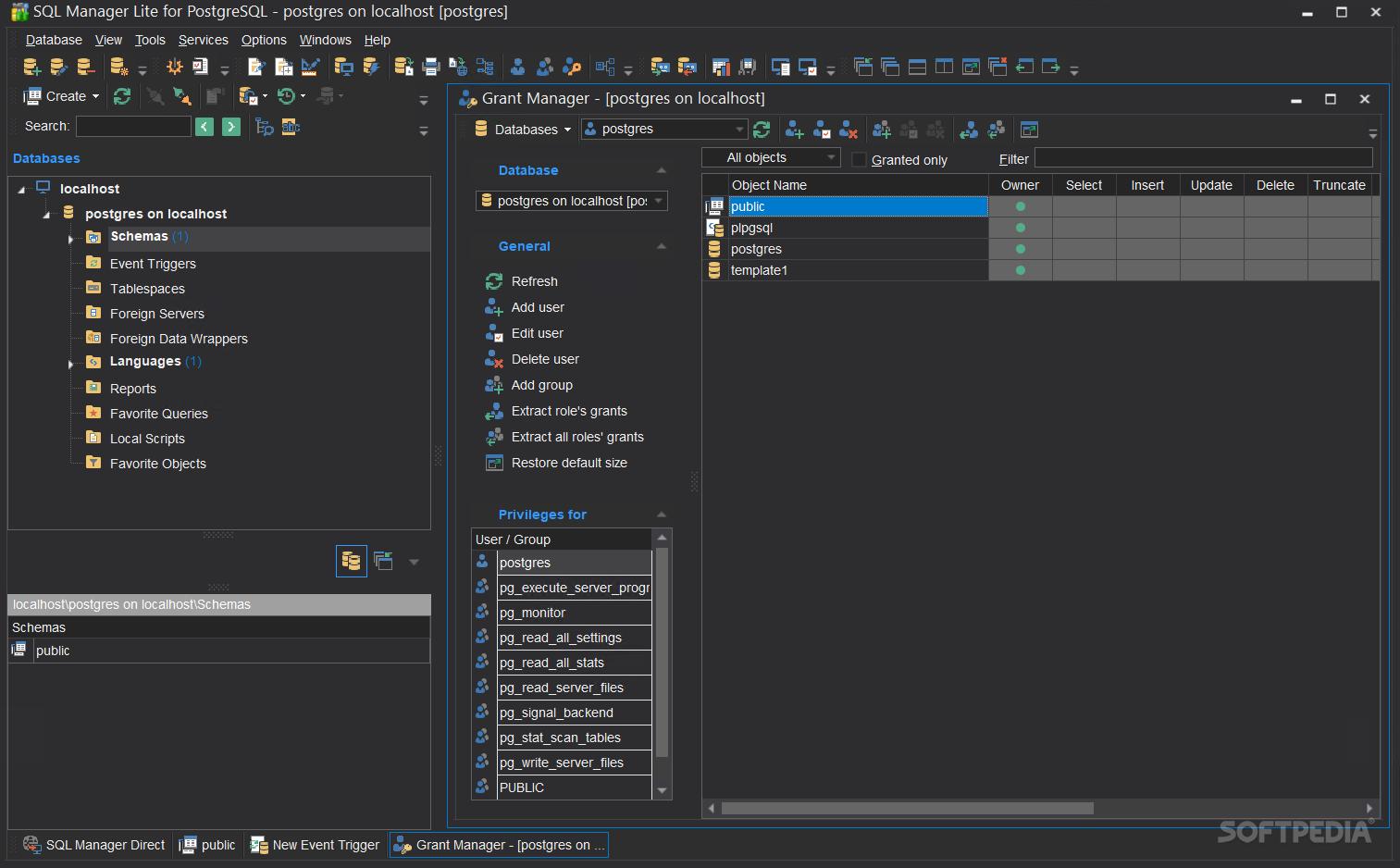 Download SQL Manager Lite for PostgreSQL 5 9 5 Build 52424