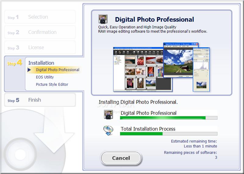 eos digital solution disk software mac