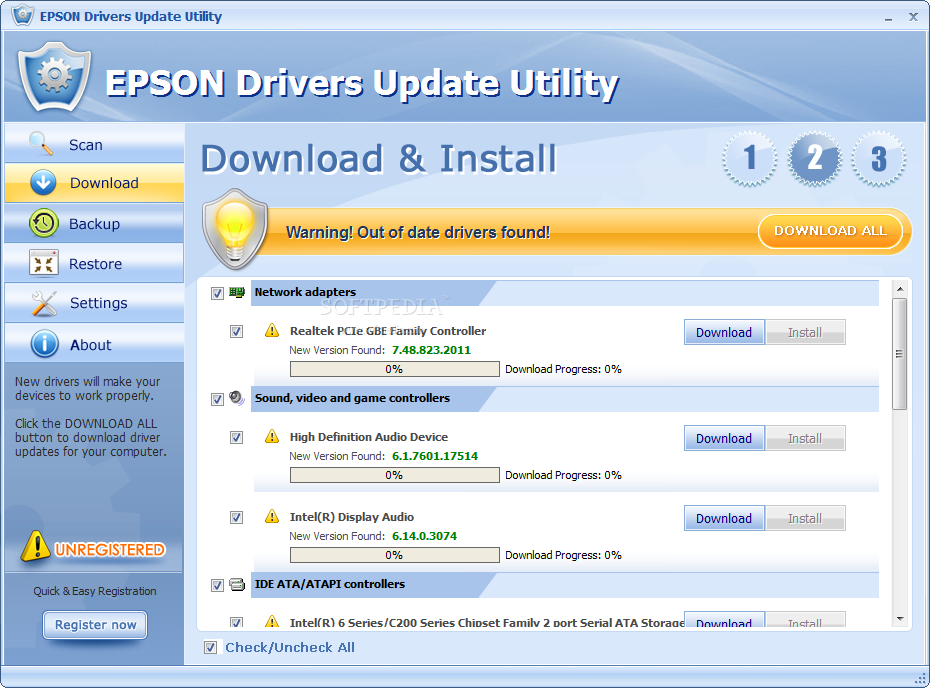 Epson Advanced Printer Driver Update Tool