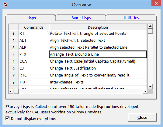 Download ESurvey Lisps 10 20