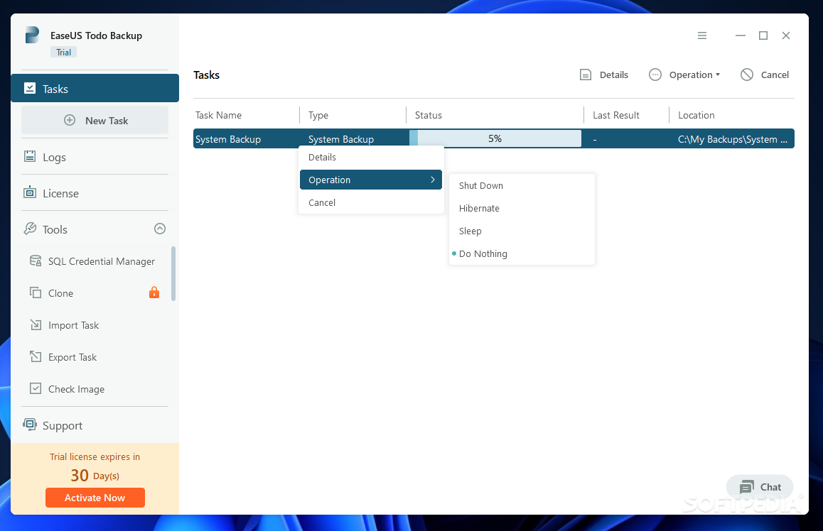 EASEUS Todo Backup Server 2.0