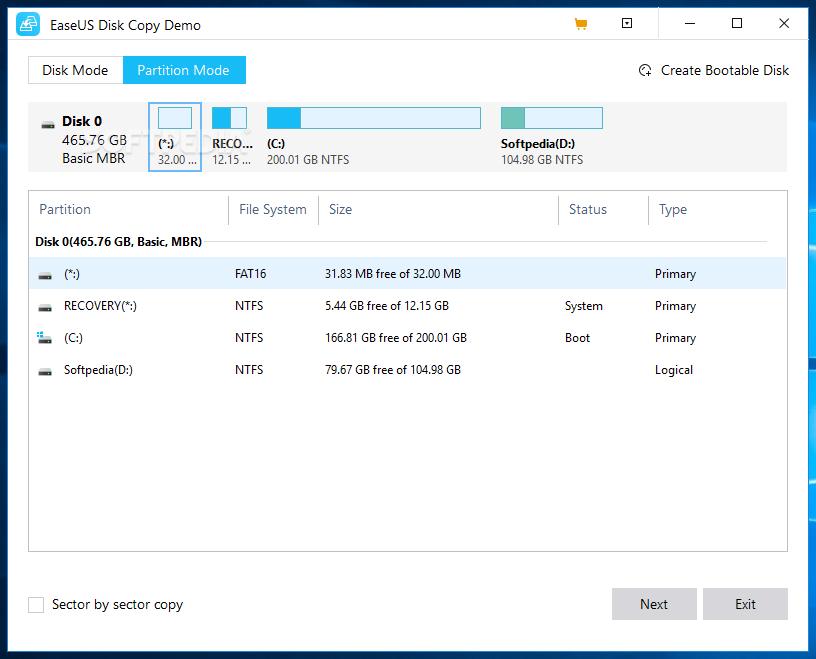 easeus disk copy iso file