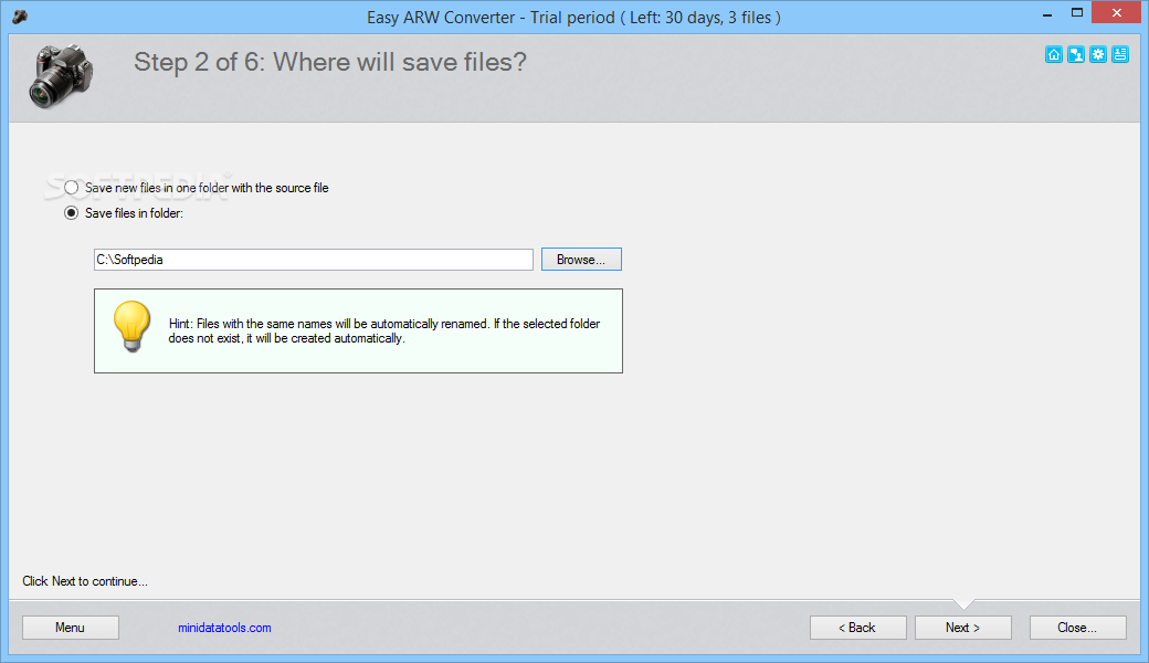 arw file converter