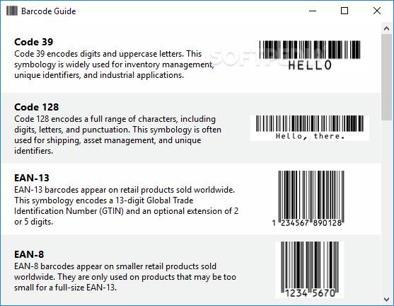 Download Easy Barcode Creator 3 1 3 Build 224