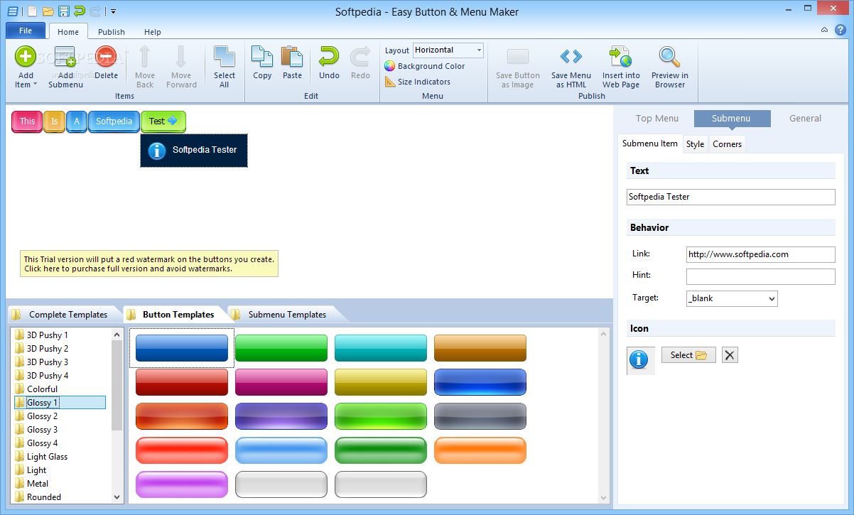download easy button menu maker 5 2