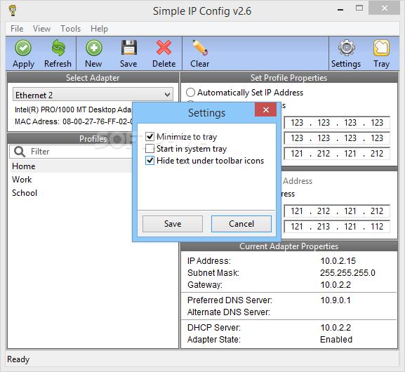 Download Simple IP Config 2 9 3