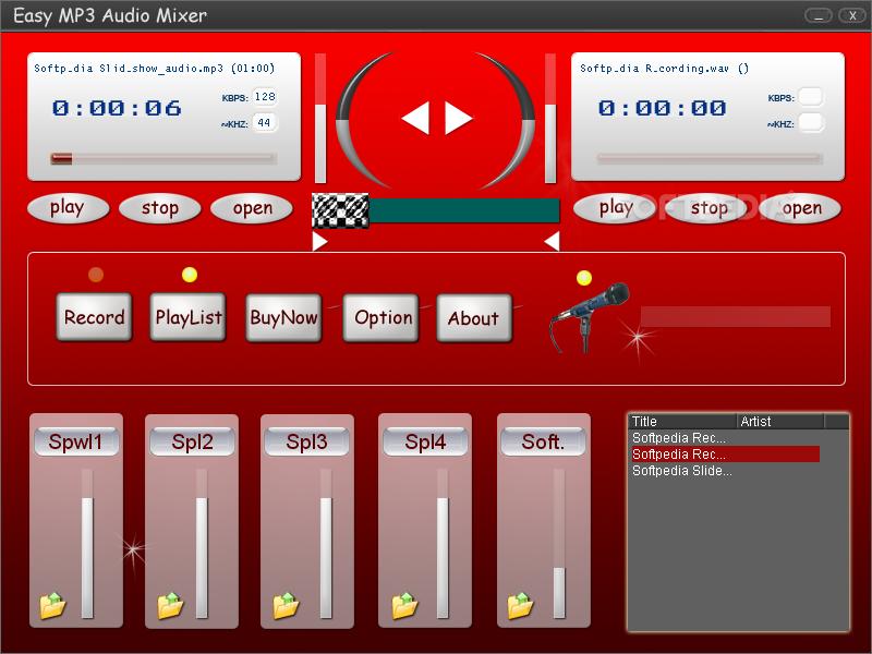 Download Easy MP3 Audio Mixer 2 01