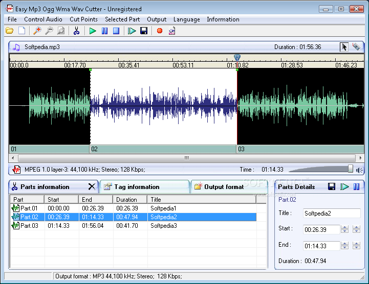 Easy Mp3 Ogg Wma Cutter Download