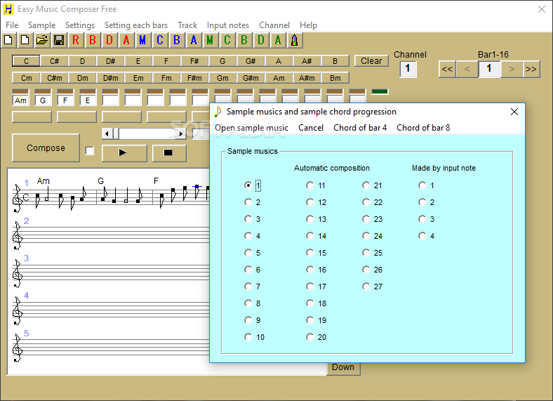 Download Easy Music Composer Free 9 95