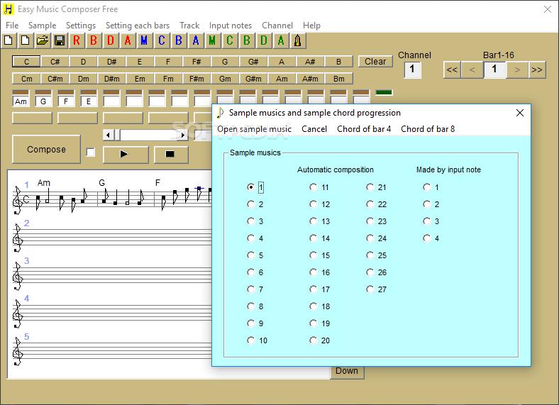 Windows Sample Music