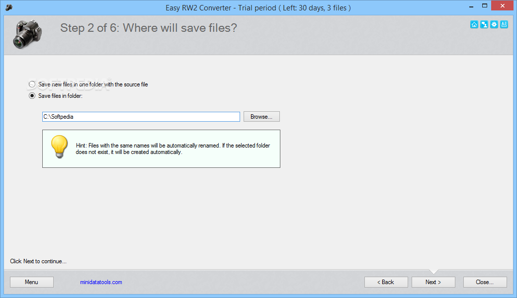 rw2 file converter download free
