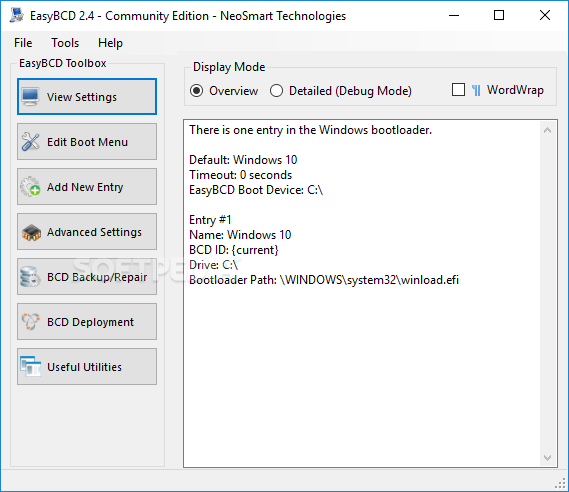 Download EasyBCD 2 4 0 237
