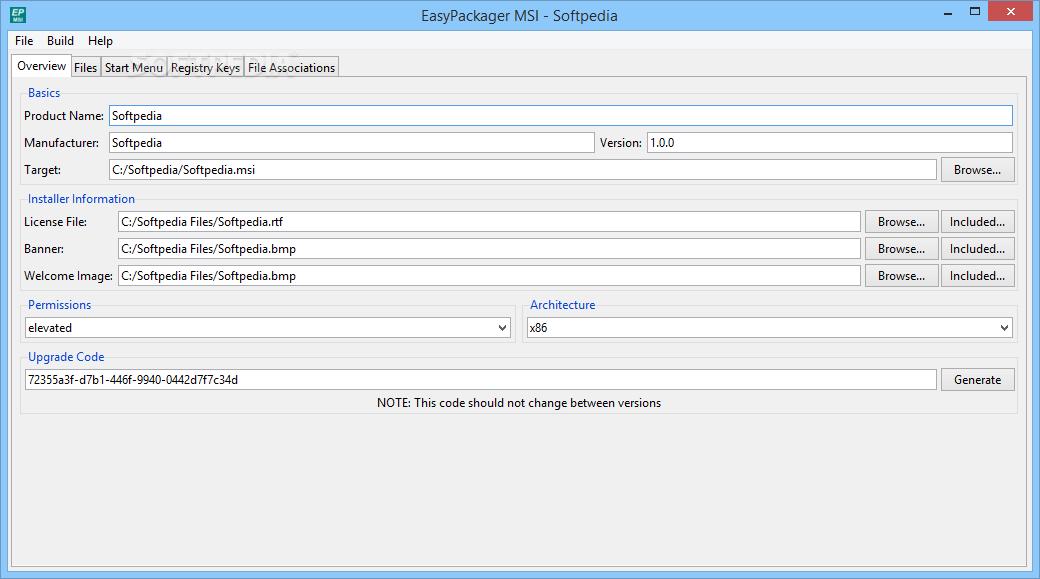 Download EasyPackager MSI 1 3 0