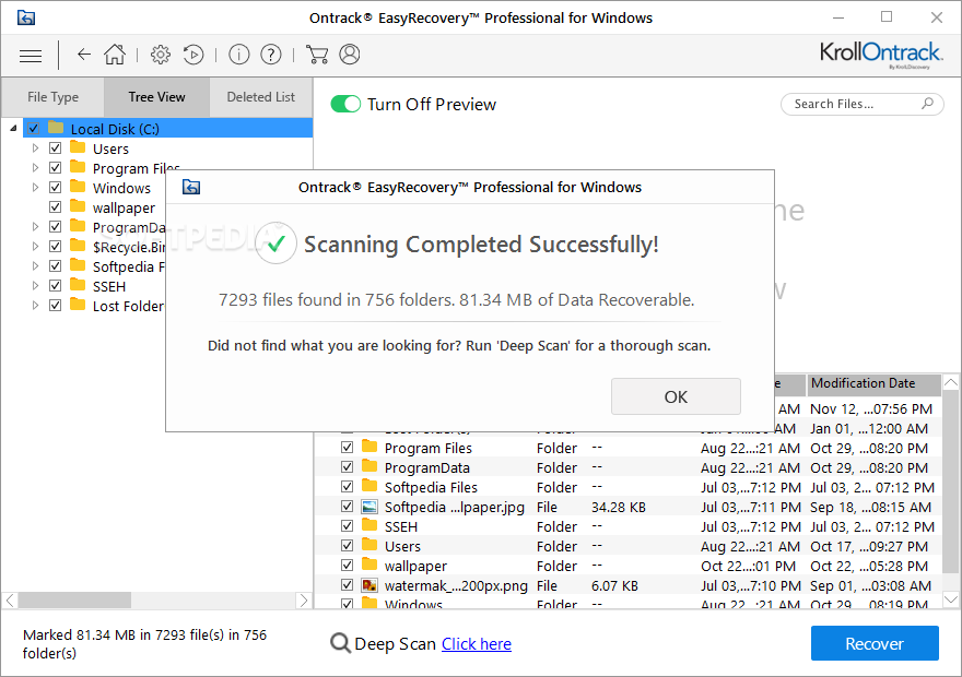 6.12.2 EASYRECOVERY PROFESSIONAL TÉLÉCHARGER ONTRACK