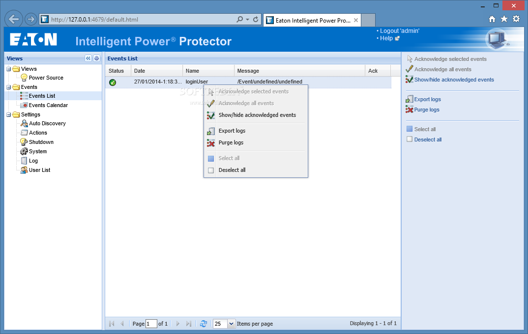 Download Eaton Intelligent Power Protector 1 53 Build 150