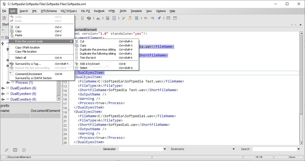 Download EditiX XML Editor 16 0 1 Build 260719