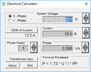 Download Electrical Calculator 4 0