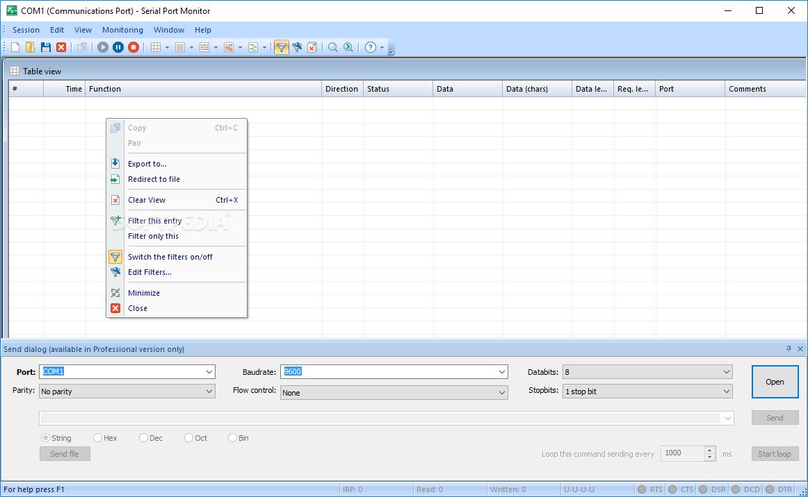 Serial Port Analyzer : Download eltima serial port monitor build