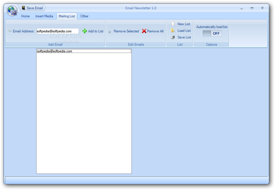mail windows how to create a mailing list