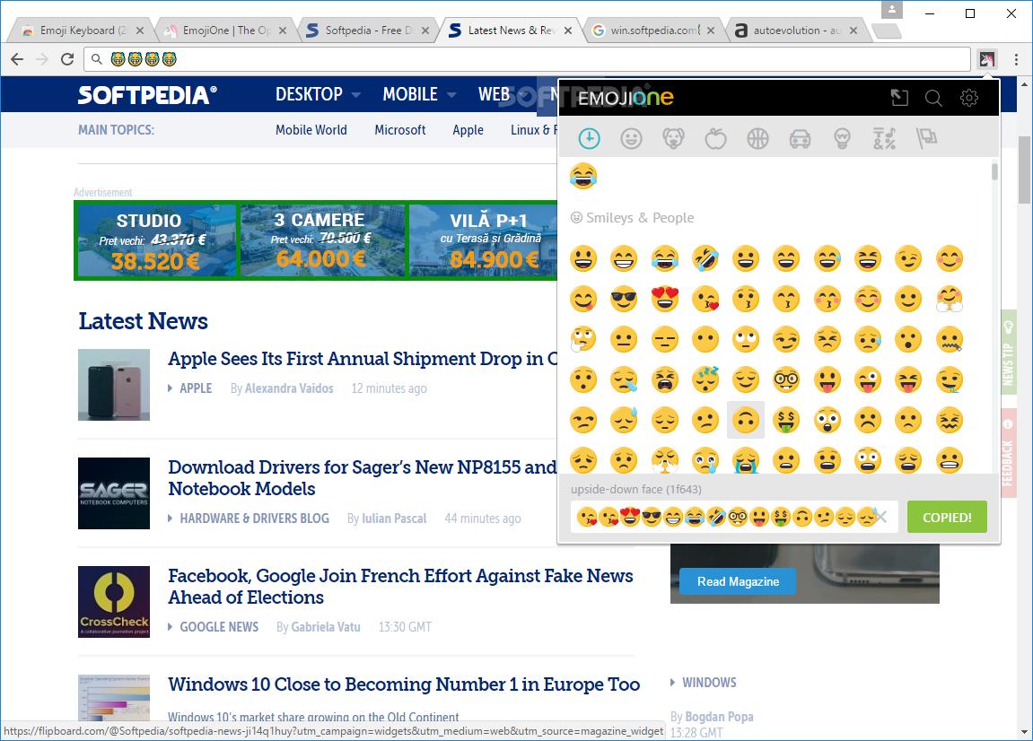 Download Emoji Keyboard for Chrome 5 0 1