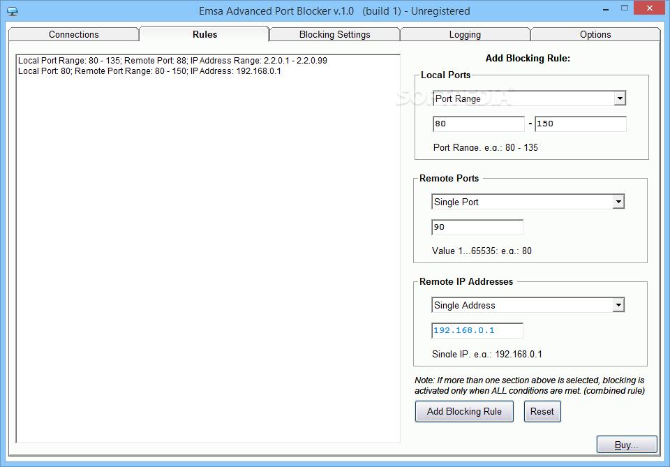 Download Emsa Advanced Port Blocker 1 0 Build 4