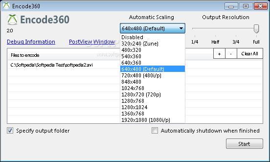 encode360