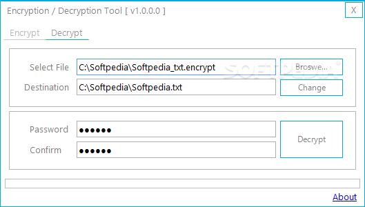 Download Encryption / Decryption Tool 1 0 0 0