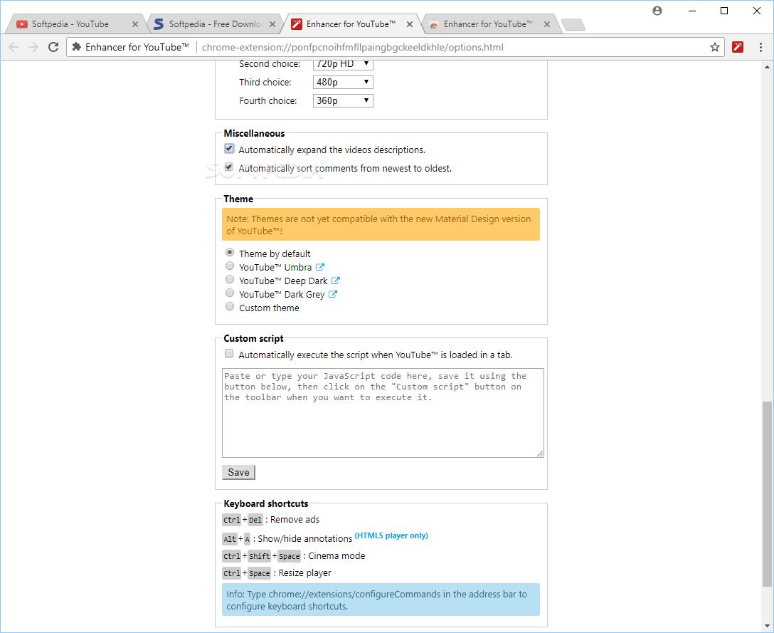 Download Enhancer for YouTube for Chrome 2 0 94 2