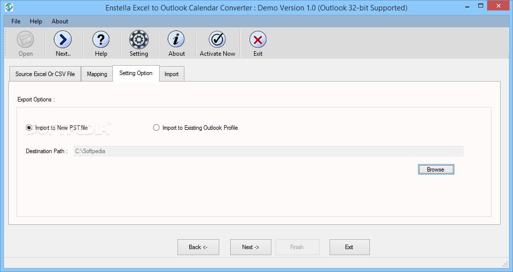 Download Enstella Excel To Outlook Calendar Converter 1 0