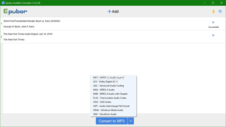 download epubor audible converter 1.0.8.108