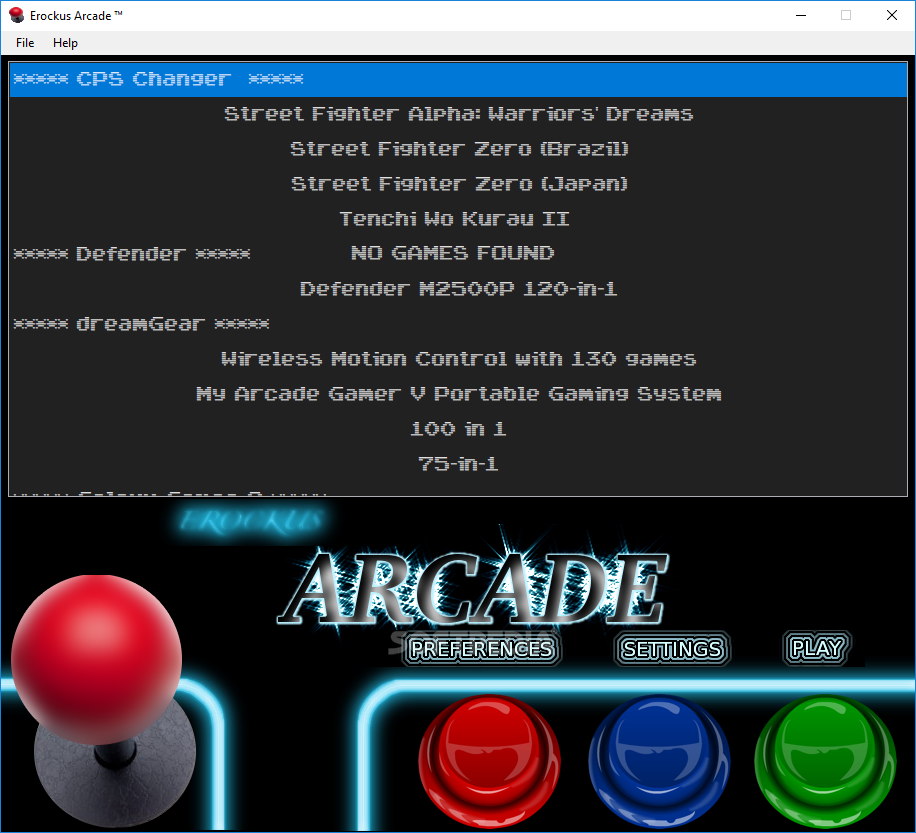 Download Erockus Arcade 6 3