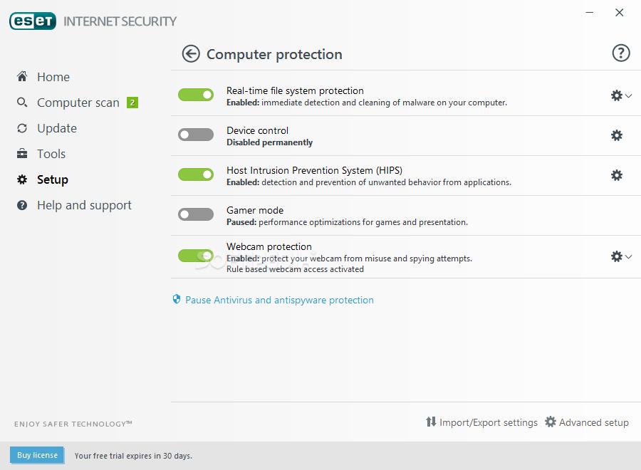 Eset Smart Security 4 & Windows 7 64bit