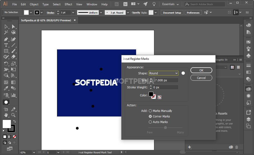 Download Esko ai-cut for Adobe Illustrator 18.0.0 Build 32 | 1047 x 640 png 75kB