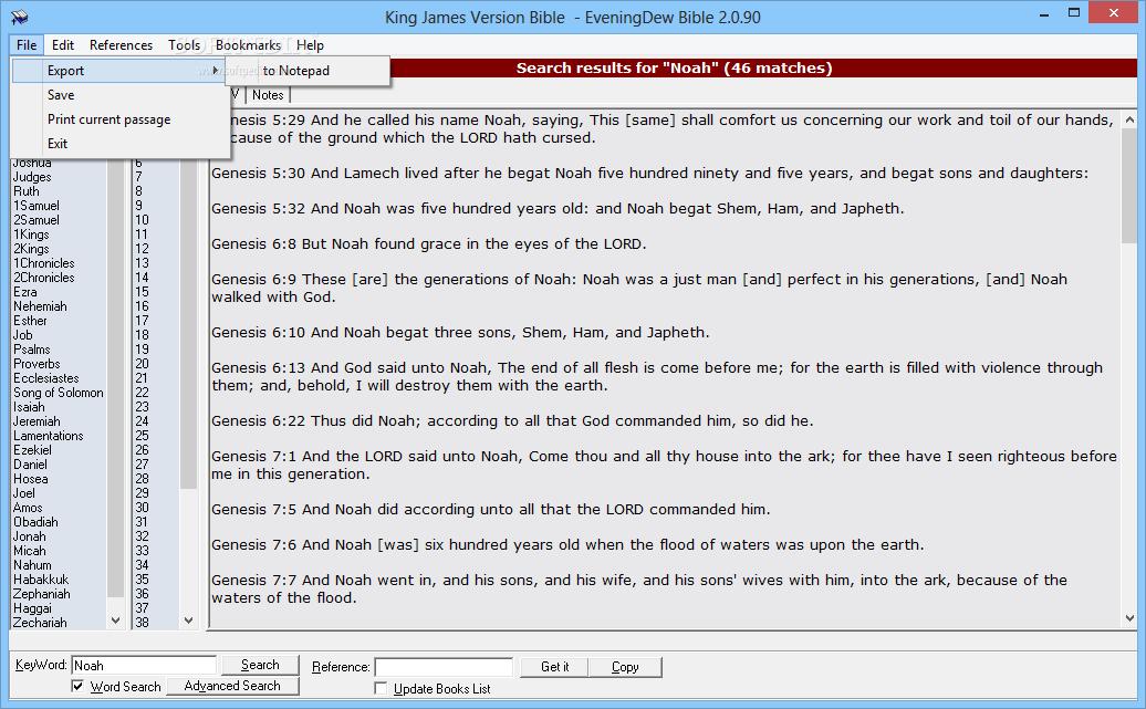 Evening dew bible free download
