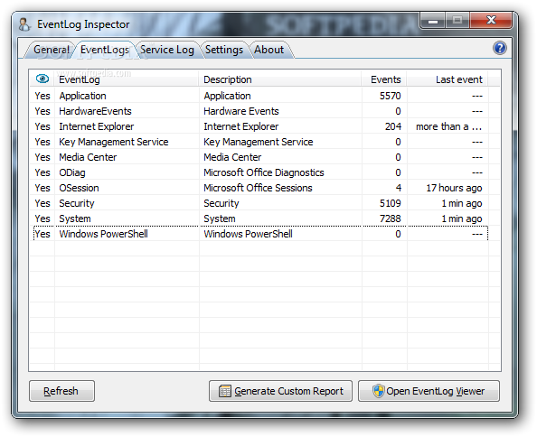 Download EventLog Inspector 3 2 3
