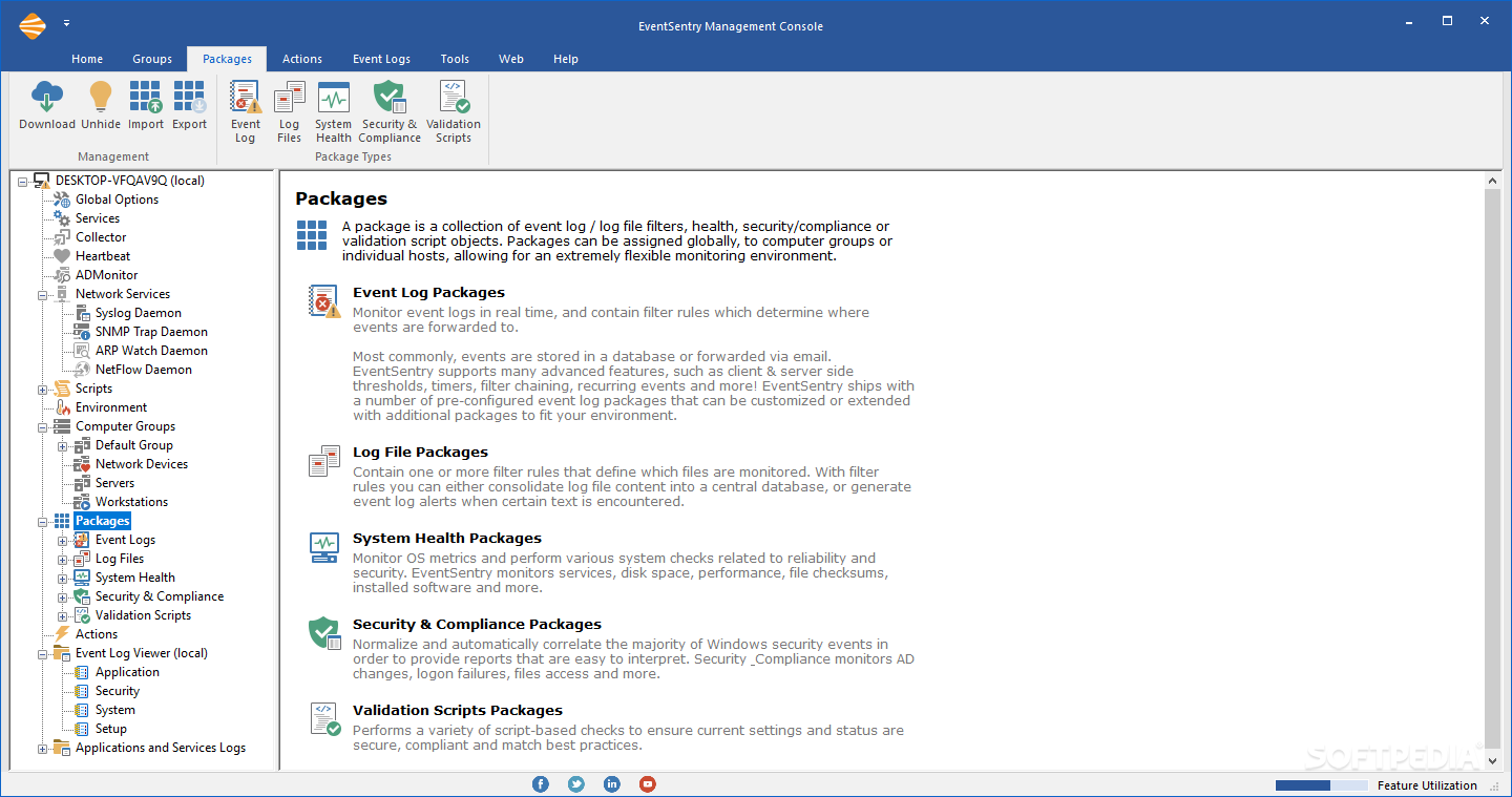 Download EventSentry 4 0 3 Build 16