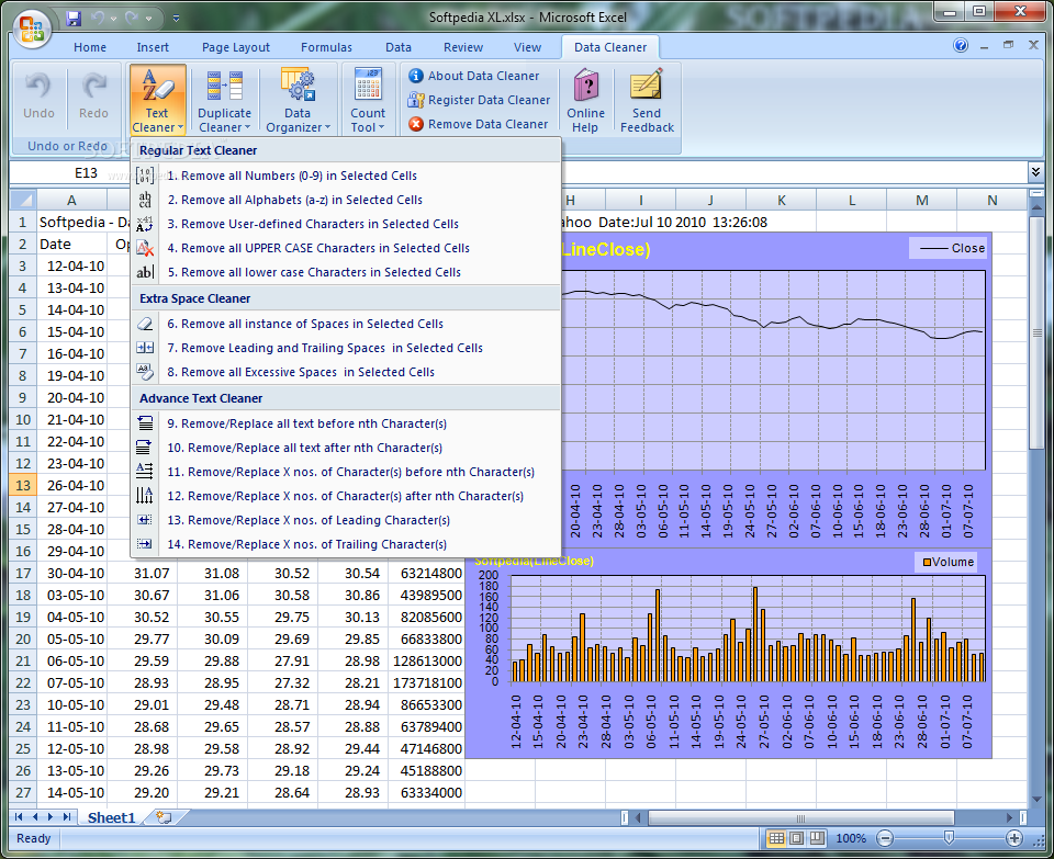 Excel Data Cleaner Premium Download