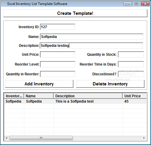 Software Inventory Template Excel