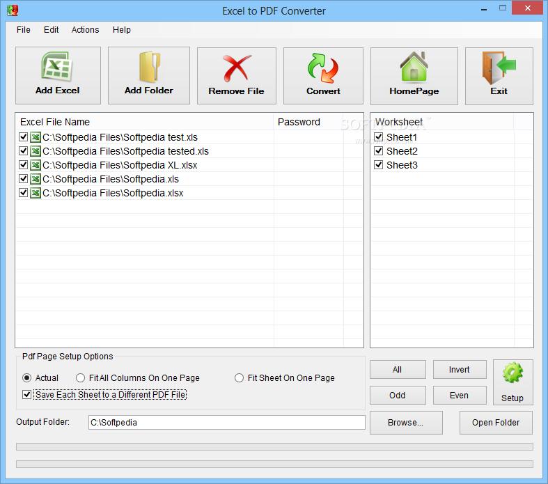Download Excel to PDF Converter 1 0 0